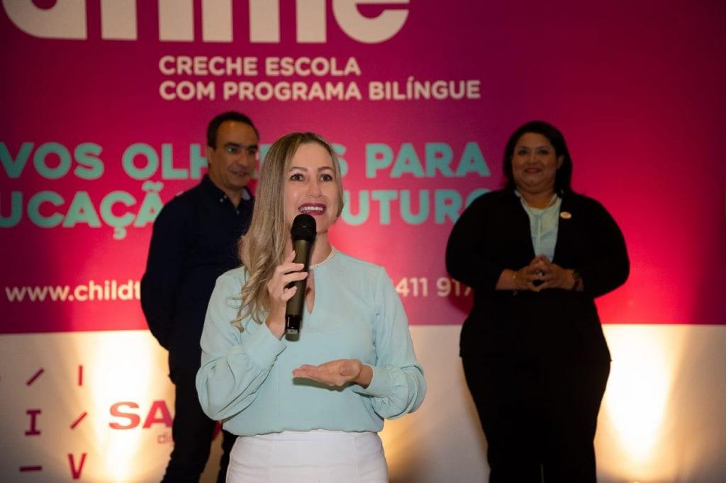 Diretora Adriana - Escola Conveniada ChildTime